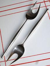 1 or more Lauffer Design 3 Salad or Meat Serving Fork Norway MidCentury Modern