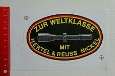 Aufkleber/Sticker: Hertel & Reuss Nickel - Fernrohr (270416168)