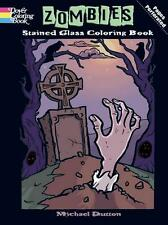 ADULT COLORING BOOK ~ ZOMBIES ~ PERFORATED PAGES FOR FRAMING!