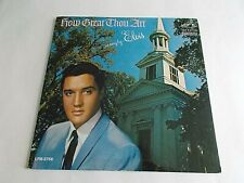 Elvis Presley How Great Thou Art LP 1967 RCA Mono Dynagroove Vinyl Record