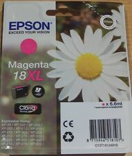 GENUINE EPSON T1813 XL Magenta (red) vac' seal cartridge ORIGINAL 18XL DAISY ink