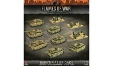 Flames of War German Bake's Fire Brigade 7 Tanks 3 Guns GEAB17 Battlefront