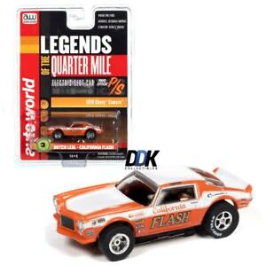 Auto World SC361-3 Xtraction Butch Leal 1970 Chevy Camaro HO Electric Slot Car