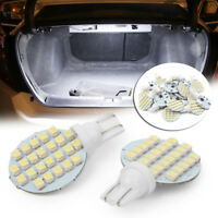 20x Super White T10/921/194 RV Trailer Landscaping 24SMD Interior LED Light Bulb