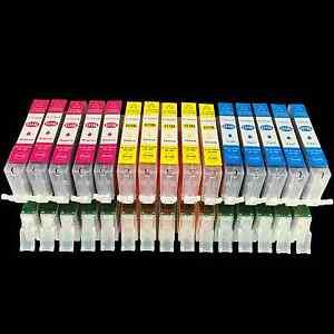 15DRUCKER PATRONEN mit CHIP für CANON IP7250 MX925 MG5450 MG5550 MG5655 00555