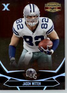 2008 Donruss Gridiron Gear X Parallel /250 #29 Jason Witten - Dallas Cowboys