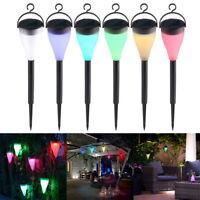 3 Modes Colorful Solar Powered LED Lights Fairy Lamp Garden Yard Path Home Decor