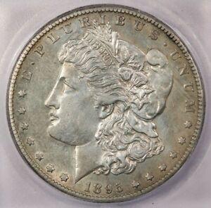 1895-O 1895 Morgan Silver Dollar ICG AU55 Sweet original coin!!