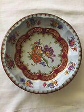 """Vintage Daher Metal Tin Bowl ~ 10 1/4"""" Round"""