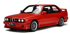 OTTO MOBILE G033 BMW M3 E30 SPORT EVO resin model car red  Ltd Ed 1:12th scale