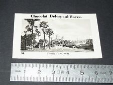 PHOTO CHOCOLAT DELESPAUL-HAVEZ 1950 COLONIE INDOCHINE CAMBODGE TEMPLE ANGKOR