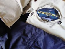JACKET doubleface 90's HENRI LLOYD tg.L made in Italy  RARE