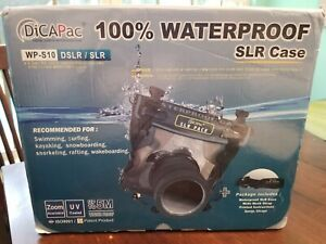 DiCAPac Digital Camera 100% Waterproof Case WP-S10 DSLR/SLR