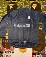 Bape Ape Head Cycling Coach Jacket Size M 100% Authentic A BATHING APE