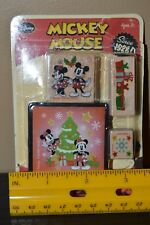Mickey Mouse Disney Christmas Mickey's Tree Trimming Rubber Stamp