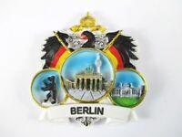 Magnet Berlin 3er Ansicht  Polyresin, Souvenir Deutschland Germany **