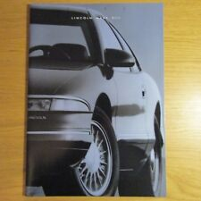 Lincoln Mark VIII 4.6 V8 COUPE USA American Market brochure AUGUST 1992 pour 1993