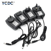 DC 12V 2A Power Supply Charger AC Adapter Plug For 3528 5050 LED Strip Lights 0