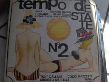 LP TEMPO D'ESTATE N.2 MINA-GABER-GIGANTI-DALLARA-ORFEI COVER GOOD VINILE EX+