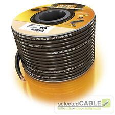 Hicon ergonómico 20m 2x 2,5mm ² Cable de altavoz kabelspule hie-225-2000