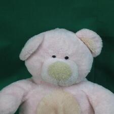 TY 2002 PINKS BEAR MWOT 1ST TEDDY KNIT EYES  NURSERY SOFT PLUSH STUFFED ANIMAL