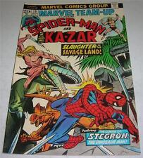 MARVEL TEAM-UP #19 SPIDER-MAN & KA-ZAR (1974) 1st appearance STEGRON (FN+)