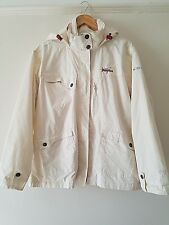 WOMENS TRESSPASS JACKET WATER AND WIND PROOF SIZE L OVERSIZED