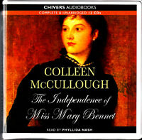 The Independence Of Miss Mary Bennet - Colleen McCullough NEW Audio Talking Book