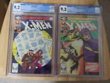 UNCANNY X-MEN #141+142 BOTH CGC SHARP 9.2 1981 DAYS OF FUTURE PAST 1ST RACHEL