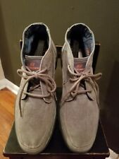 Men's Skechers  Mid Top Oxford Shoes, Olive Cloth Sizes 13