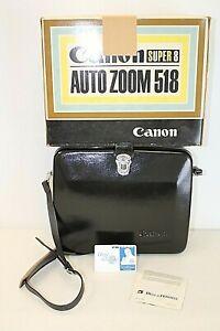 Canon Super 8 Auto Zoom 518 Movie Camera w/ Original Case