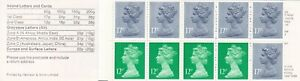GBB153) GB FP1A 14 Jan 86 Booklet Pillar Boxes £1.50 Write Now