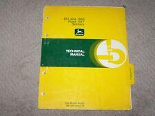 John Deere 251 & 1550 Powr-Till Seeders Tech Manual Tm-1201 B8