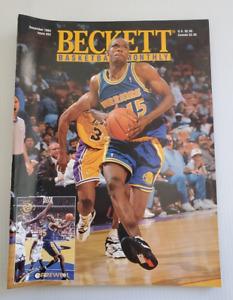 Beckett Basketball NBA Monthly #53 December 1994 Latrell Sprewell, Wilkins