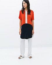 ZARA woman colorblock dress