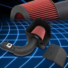 Black Aluminum Cold Air Intake Kit+Red Filter For 13-17 Scion FR-S/Subaru BRZ