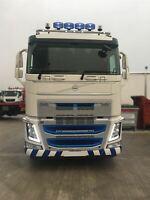 Pour 2013 + Volvo Fh4 Bas/Standard Sleeper Toit Barre + Leds + Pois +