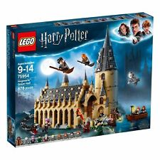 On Hand- LEGO Harry Potter 75954 Wizarding World Hogwarts Great Hall New 2018