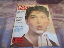 PICTURE POST MAGAZINE 7th JaN 1957 Cover JANETTE SCOTT This years Peter Pan