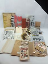 Large Lot Tim Holtz And Various Craft Products (N6)