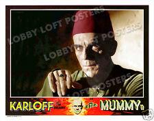 THE MUMMY LOBBY SCENE CARD #9 POSTER 1932 BORIS KARLOFF IMHOTEP