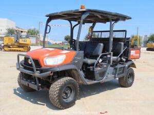 2016 Kubota RTV-X1140 4WD Side By Side Cart ATV UTV Dump Bed bidadoo -Repair