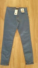 Ladies Super High Waist Skinny Jeans Size 16 New With Tags