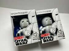 MIGHTY MUGGS STAR WARS TARGET EXCLUSIVE SNOWTROOPER NEW 2008 RARE TROOPER LOT 2