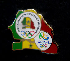 2016 RIO NEW Olympic SENEGAL NOC Internal delegation Staff Map pin