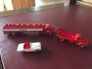 Lego 1:87 Konvolut Tankwagen Abschlepper Mercedes 190 sl