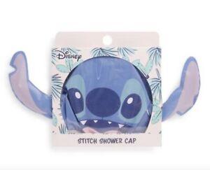 PRIMARK Disney Lilo And Stitch Plastic Reusable Shower Bath Hair Cap NEW DESIGN