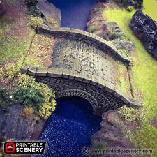 Stone Footbridge  28mm Tabletop Games Dwarven Forge D&D Terrain Wargaming