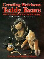 Creating Heirloom Teddy Bears by Mullins, Linda Hardback Book The Fast Free