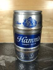 Vintage Steel Beer Can Hamm's Draft Olympia Brewing Company 12 Fl Oz